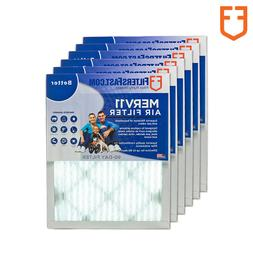 "1"" Filters Fast Allergen Air and Furnace Filters MERV 11 6 P"