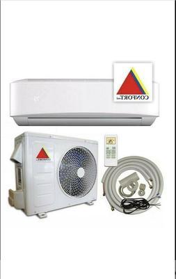 12,000 BTU System Ductless Air Conditioner,Heat Pump Mini sp