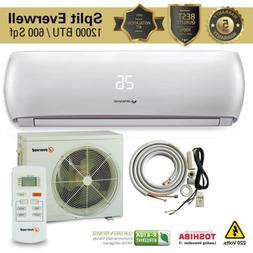 12000 BTU Air Conditioner Mini Split AC System Ductless COLD