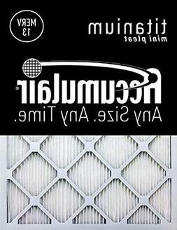 12x22x1  Accumulair Titanium 1-Inch Filter