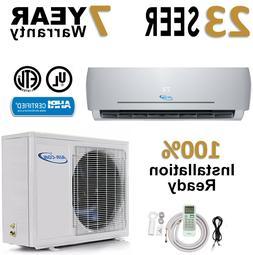 18000 BTU Air Conditioner Mini Split 23 Seer Ductless AC Hea