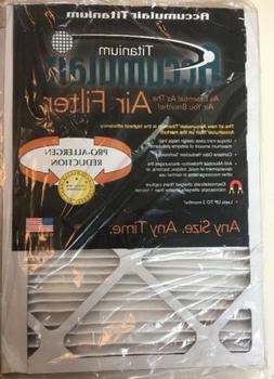 2 Titanium Accumulair Home Air Filters For Dust Allergy 10 X