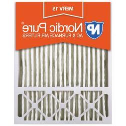 20x25x5 4 Merv 15 x6675 x6673 Air Filter Furnace Pleated Len