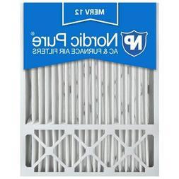 20x25x5 4 Air Filter Furnace  Merv 12 13 11 Pleated Lennox x