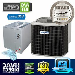 3 Ton 14 SEER AirQuest-Heil by Carrier Air Conditioner, 17.5
