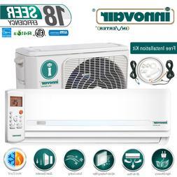 30000 BTU Mini Split Air Conditioner Heat Pump Ductless 230V