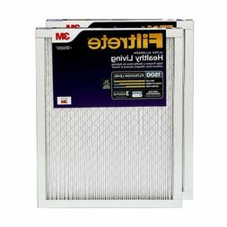 AIR CONDITIONER FURNACE AC FILTER SMART MPR 1500 20X30X1 14X
