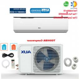 12000 BTU Ductless MINI Split Air Conditioner with Heat Pump