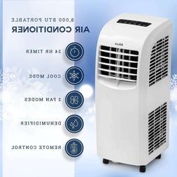 DELLA 8000 BTU Portable Air Conditioner Fan 70 Pint/Day Dehu