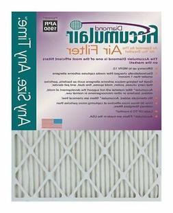 Accumulair Diamond 1-Inch MERV 13 Air Filter/Furnace Filters