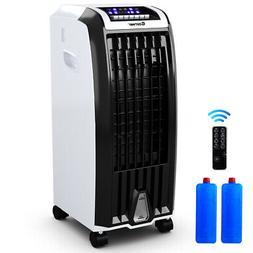 Evaporative Portable Air Cooler Fan Anion Humidify W/ Remote