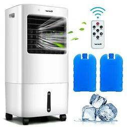 Evaporative Portable Air Cooler Fans Conditioner Remote Cont