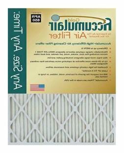 Accumulair Gold 12.13x19.5x1  MERV 8 Air Filter/Furnace Filt