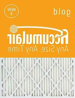 Accumulair Gold 14x27x1  MERV 8 Air Filter/Furnace Filter
