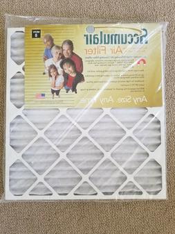 Accumulair Gold MERV 8 Air Filter/Furnace Filters 21x23x1