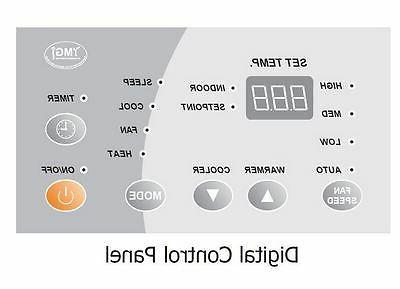 YMGI 12000BTU PACKAGED TERMINAL AIR HEAT 265-277V 5KW Heater SK