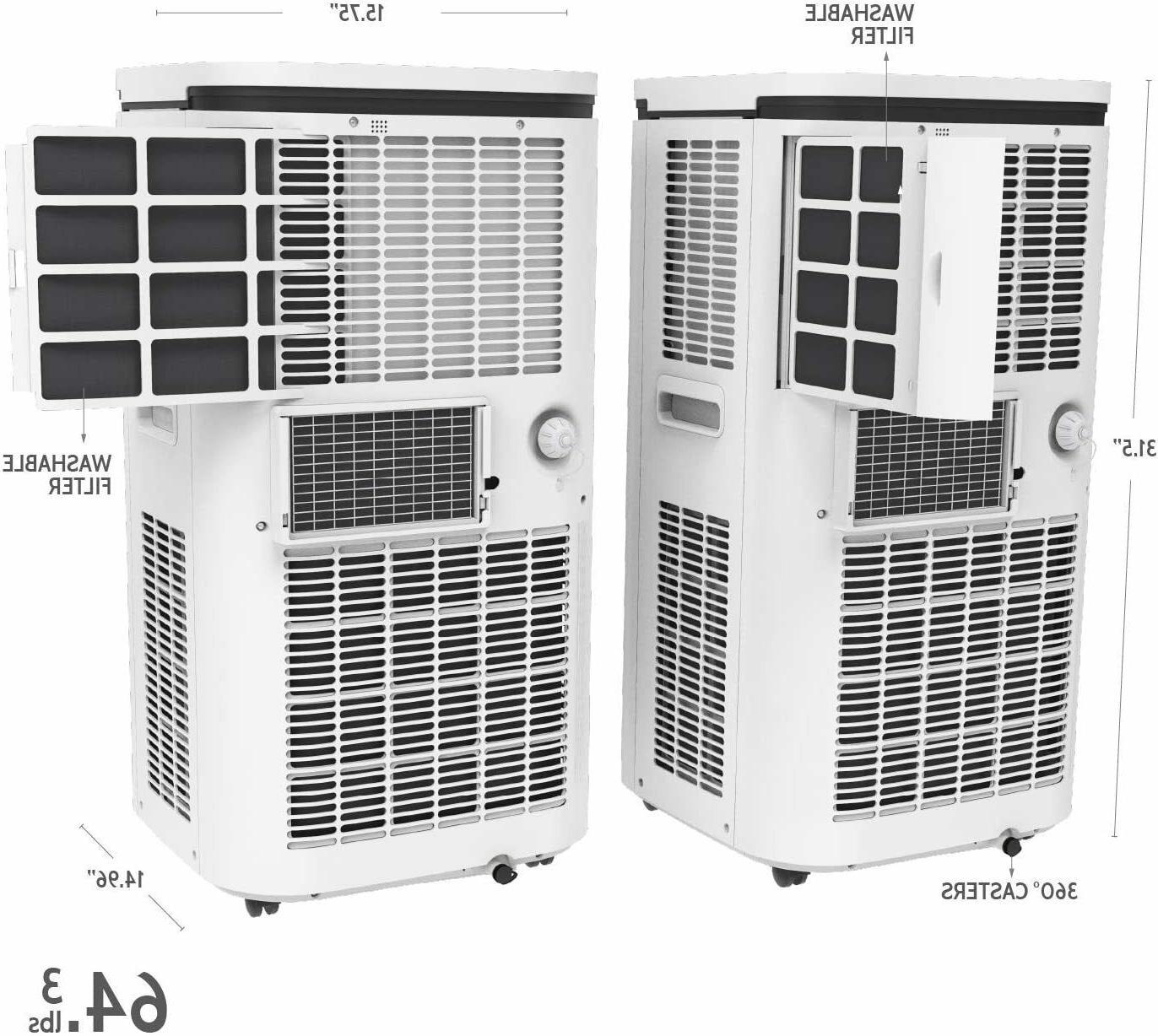 Rollicool Conditioner 14000BTU Voice Wi-Fi Dehumidifier