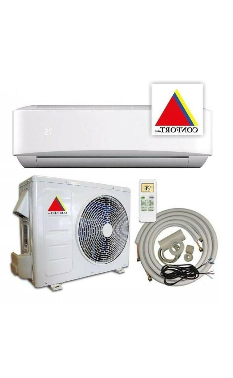 18,000 BTU Ductless Conditioner, Heat Split 1.5 With/KIT