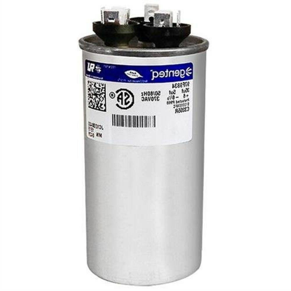 AC Dual Run Capacitor Round 35/5 uf MFD 370V Air Conditioner