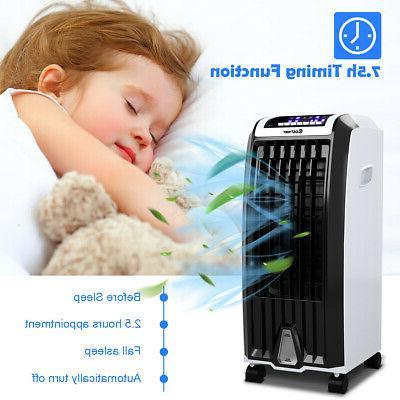 Evaporative Portable Air Conditioner Cooler Fan Anion Humidify W/ Control