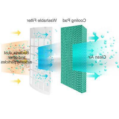 Evaporative Air Conditioner Cooler Fan W/ Remote Control