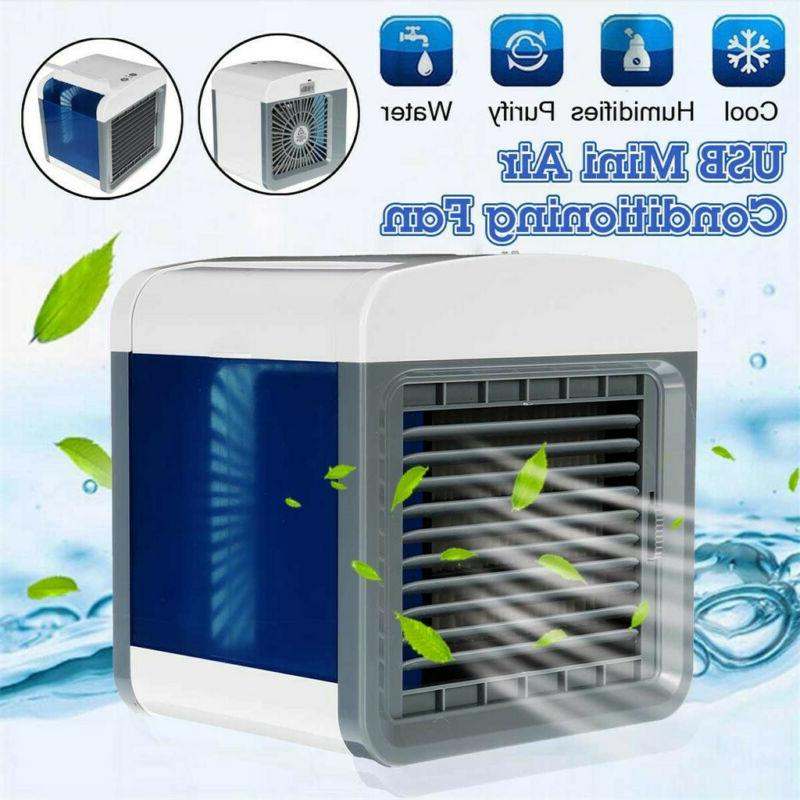 Personal Air Cooler Mini USB Portable Air Conditioners Fan D