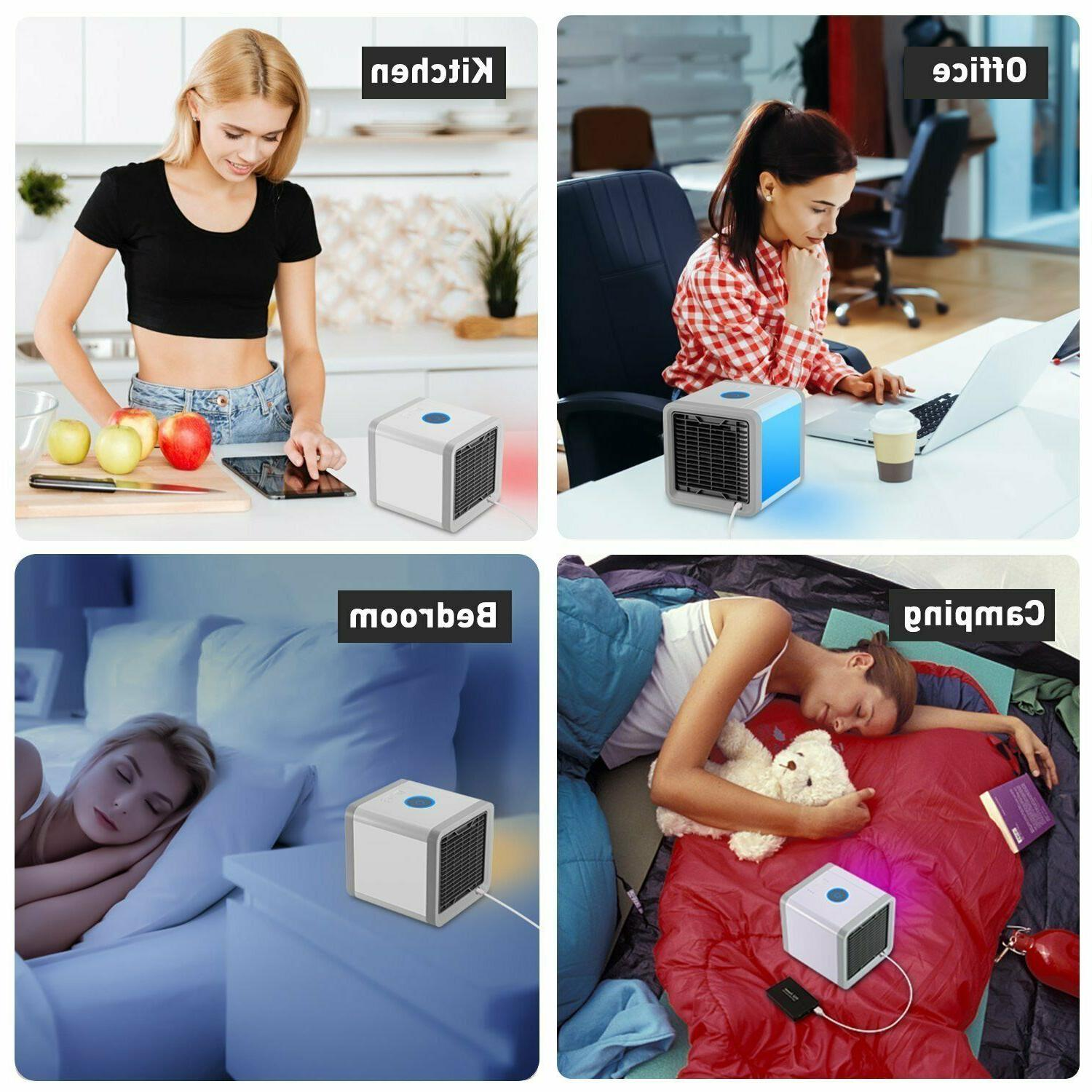 Mini USB Conditioning Humidifier Purifier with 7