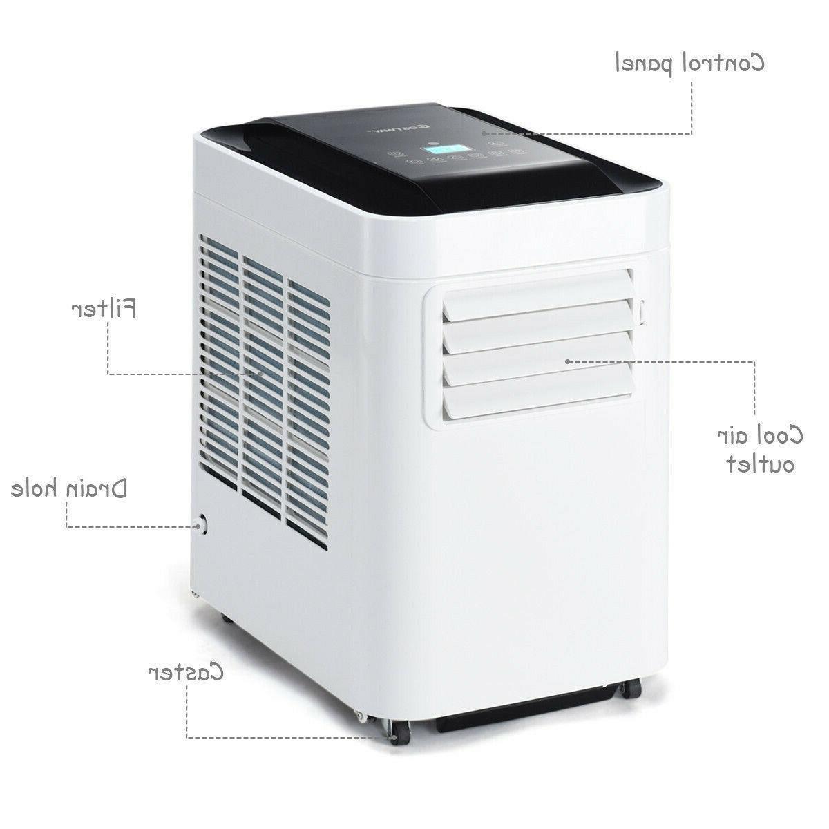 Portable Air Conditioner AC & Dehumidifier w/ Remote