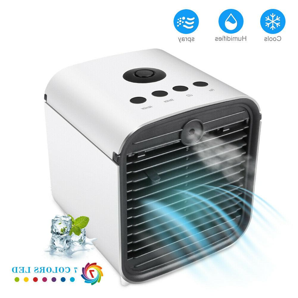 Portable Air Conditioner Fan Humidifier Home