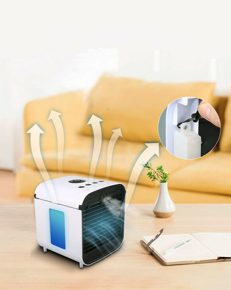 Portable Cooling Fan Humidifier Filter Evaporative Home Office