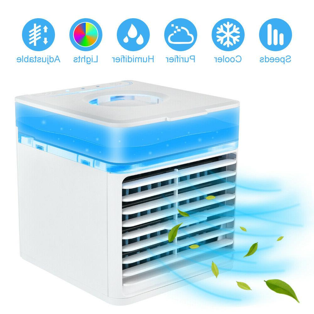 portable air conditioner cooling fan humidifier filter