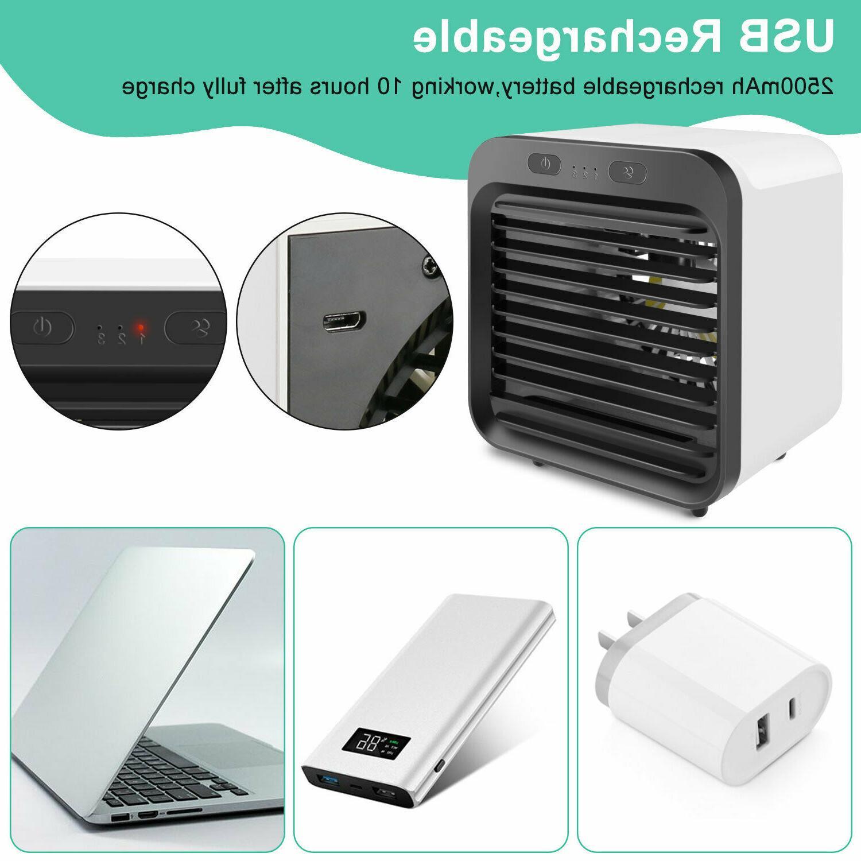 Portable Cooler Humidifier Purifier Home