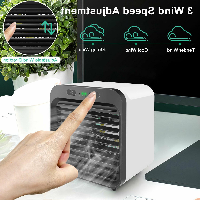 Portable Air Conditioner Fan Cooler USB