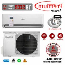 9000 BTU Air Conditioner Mini Split 19 SEER INVERTER AC Duct