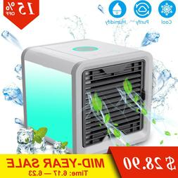 Mini USB Portable Air Conditioning Humidifier Purifier with