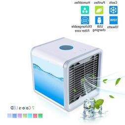 Summer Portable Mini Air Conditioner Arctic Cooling Fan Humi