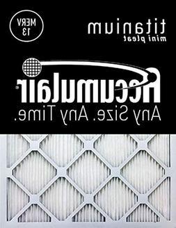 Accumulair Titanium 15x25x1  High Efficiency Allergen Reduct