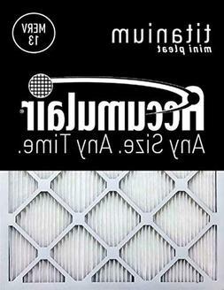 Accumulair Titanium 8x30x1  High Efficiency Allergen Reducti