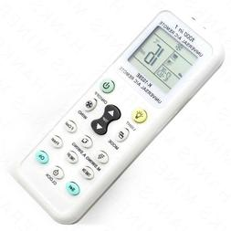 Universal A/C Remote Control Air Conditioner LCD Samsung Pan